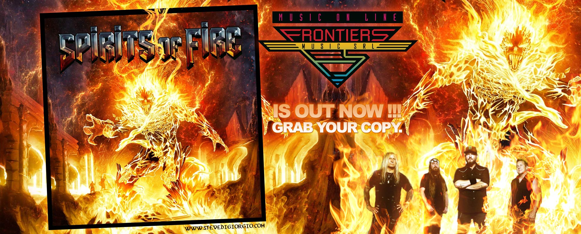 Spirits Of Fire Out Now