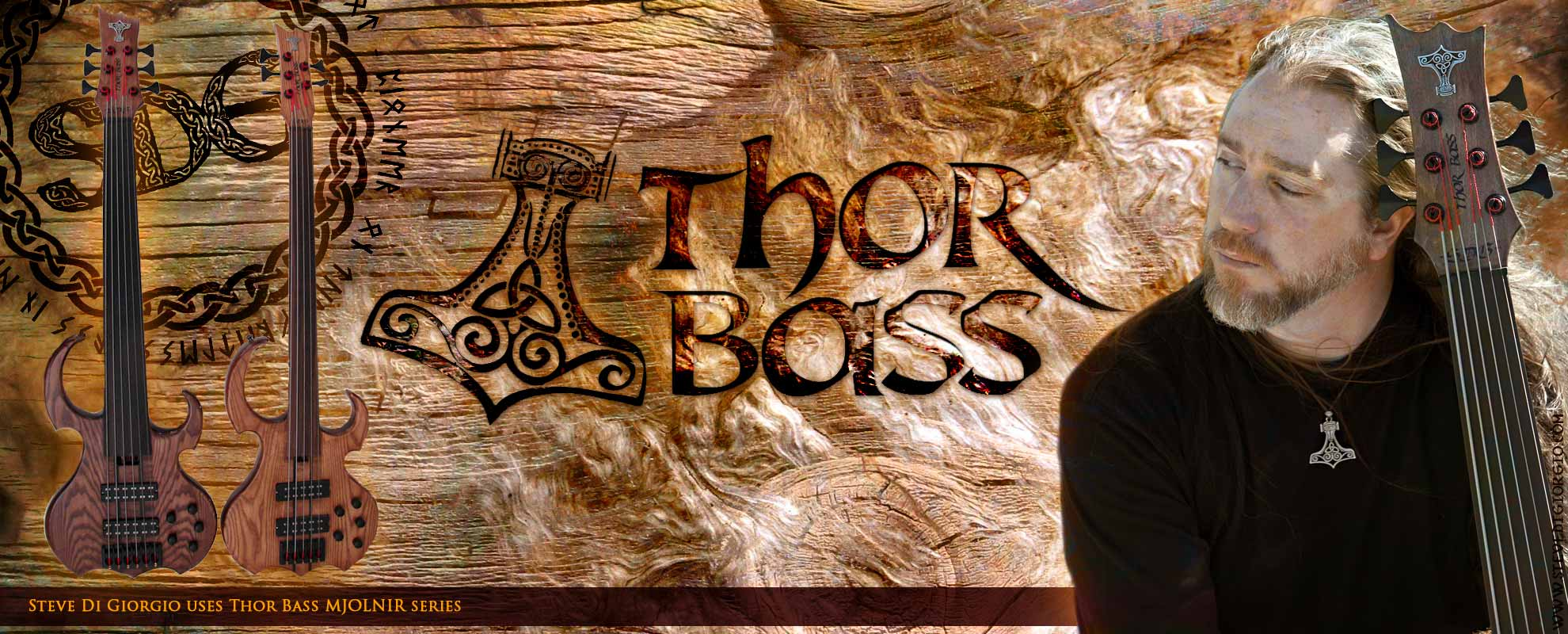 Thor Bass - handmade basses built by luthier Karl Thorkildsen