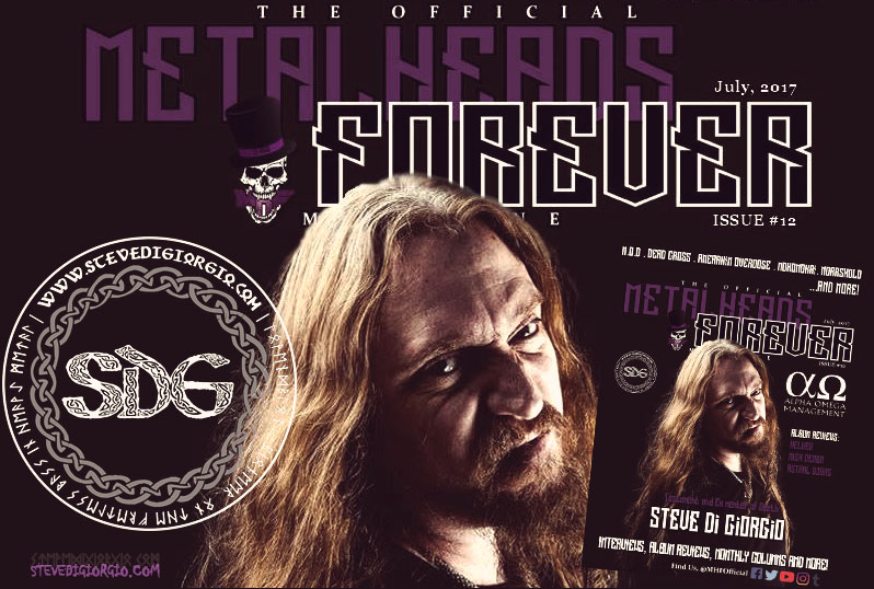 Steve interviewed by MetalHeads Forever Magazine