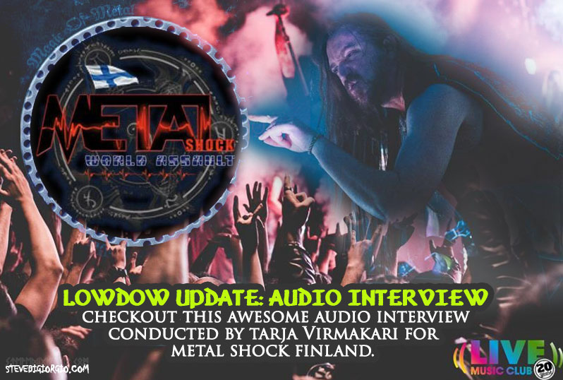 LowDown Audio Interview with Steve