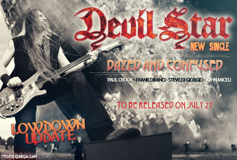 Steve Di Giorgio featured on Devil Star new single