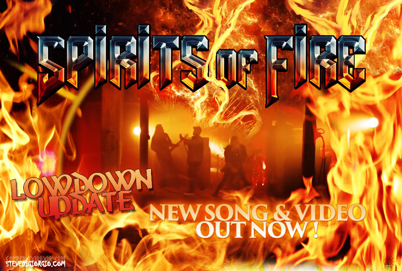Spirits Of Fire New Song and Video finally out !