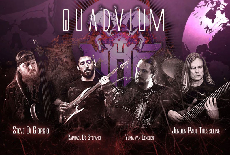 Interview for MetalHeads Forever Magazine about Quadvium