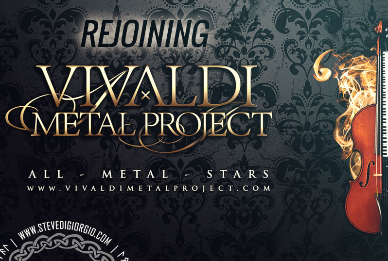Steve rejoin Vivaldi Metal Project for new album