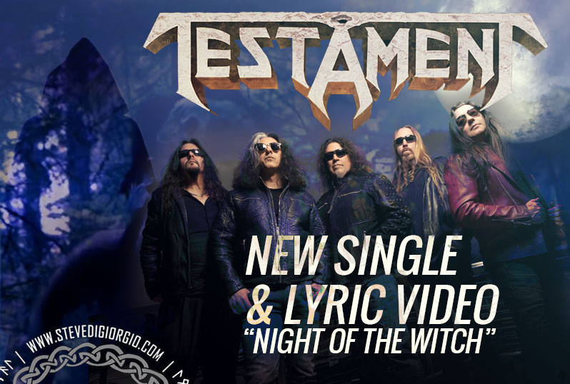 New single and Lyric Video from Testament